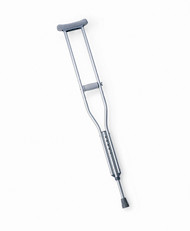 Medline MDS80337Z CRUTCH,ALUMINUM,PUSH BUTTON,CHILD,ECON CS 2/CS