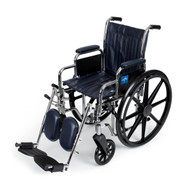 Medline MDS806300N WHEELCHAIR,EXCEL,16 ,RDLA,ELR,NAVY EA