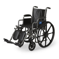 Medline MDS806300NEV WHEELCHAIR, VINYL, DLR, ELR, K2B, 16 EA
