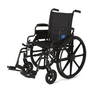 Medline MDS806500 WHEELCHAIR,EXCEL,K4,18,S/B DLA,S/A FT EA
