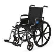 "Medline MDS806500NE WHEELCHAIR,K4 BASIC,16"" ,DESK ARM,S-A EA"
