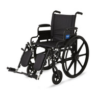 Medline MDS806550 WHEELCHAIR,EXCEL,K4,S/B DLA,S/A ELR EA