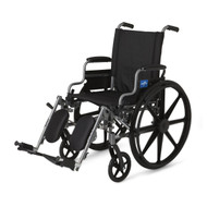 Medline MDS806550E WHEELCHAIR,K4 BASIC,18,DLA,ELR EA