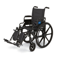Medline MDS806550N WHEELCHAIR,EXCEL,K4,16,S/B DLA,ELR EA