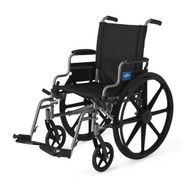 Medline MDS806560E WHEELCHAIR,K4 BASIC,20,DESK ARM,S-A EA