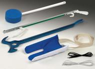 Medline MDSD1411 Hip Kit with Metal Reacher, Assorted/Multicolor, ADL, EA