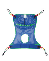 Medline MDSMR141 FULL MESH SLING with Commode Opening, 700 Lbs. ,2XL