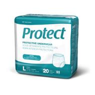 Medline MSC13505A PROTECTIVE UNDERWEAR,LARGE,40-56 CS 80/CS