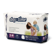 Medline MSC23001A DryTime Disposable Protective Youth Underwear (Pack of 60),Small/Medium,40-70lbs