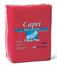 "Medline MSC327100 Capri Bladder Control Pads, 3.25X13"" (Case of 126)"