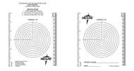 Medline MSC6252 GUIDE,WOUND MEASURING,BULLSEYE/RULER BG 250/BG