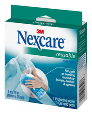 "3M 2641 Nexcare Reusable Hot/Cold Pack, 4"" x 10"" PK/1"