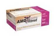 AMD 9991-D LATEX GLOVES, POWDERED, LARGE BX/100 (AMD 9991-D)