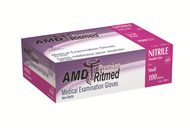 AMD 9998-E NITRILE (5 MIL) GLOVES, POWDER-FREE, X-LARGE (CS/10) BX/100 (AMD 9998-E)