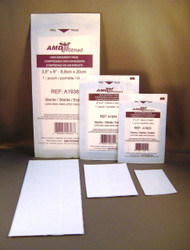 """AMD A1938 STERILE NON-ADHERENT DRESSING, 3"""" X 8"""" BX/50 (AMD A1938)"""