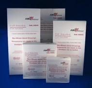 "AMD A60011-W STERILE TRANSPARENT DRESSING W/ WINDOW/LABEL, 1 3/4"" X 1 3/4"" (CS/4) BX/100 (AMD A60011-W)"