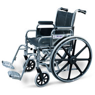 "AMG 700-631 WHEELCHAIR WITH DESK ARM & SWING-AWAY FOOTRESTS 22"" SPECIAL ORDER ITEM (NON-RETURNABLE)"