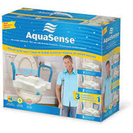 AMG 770-618 AQUASENSE 3-N-1 RAISED TOILET SEAT