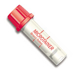 BD-365963 TUBE MICROTAINER MICROGARD NO ADD RED PK/50