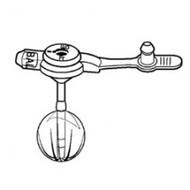 Ballard 01201612 MIC-KEY LOW PROFILE GASTROSTOMY FEEDING TUBE 16FR 1.2CM