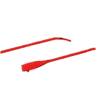 "Bard 010114 RED RUBBER LATEX, COUDE URETHRAL CATHETER, ONE-EYE 14FR 16"" BX/12"