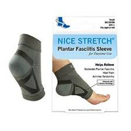 BRM 53100 NICE STRETCH PLANTAR FASCIITIS SLEEVE, SMALL/MEDIUM