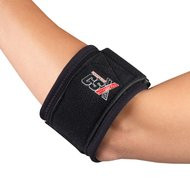 BSN-19500UNBLK BX/1 SILVER LABEL GELBAND TENNIS ELBOW BAND, UNIVERSAL, BLACK
