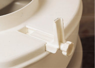Drive Medical CAA21-401 Bracket set for Savanah toilet seat