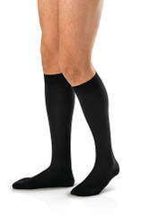 BSN-7766903 PR/1 JOBST AMBITION MEN, KNEE HIGH, 30-40MMHG, 4 REGULAR, BLACK, CLOSED TOE