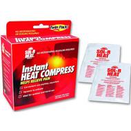 Duro-Med 61200329724 Sol-R Heat INSTANT HEAT COMPRESS PK/2