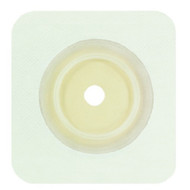 """Genairex 7205214 Securi-T 2-piece Standard Wear Cut-to-fit Wafer with Flange and White Tape Collar 2-1/4"""" Flange Square, 5"""" x 5"""" BX/10"""