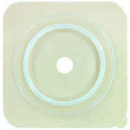 """Genairex 7404134 Securi-T Cut to Fit Standard Wear Solid Hydrocolloid Wafer without collar 4 x 4 - 1 3/4"""" BX/10"""