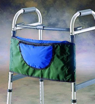 Invacare 60154 WALKER Pouch, FOREST GREEN (NON-RETURNABLE)