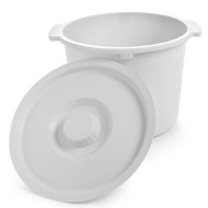 INVACARE 6317 Replacement COMMODE PAIL AND LID