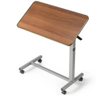"""Invacare 6418 Tilt-Top Overbed Table - 30"""" H x 30"""" W x 15"""" D"""