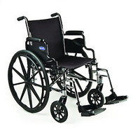 "ISG 1810 HIGH PERFORMANCE LIGHTWEIGHT WHEELCHAIR, 18""x16"", SWINGAWAY FOOTRESTS"
