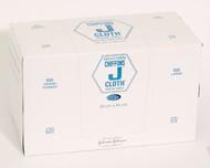 JNJ-H1624 J-CLOTH HOSPITAL TOWELS LARGE / BLUE (30CM X 60CM) BX/100