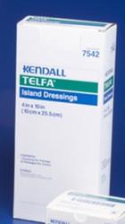 "Kendall 7542 TELFA ISLAND DRESSING 4X10"" (CS4) BX/25"