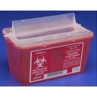 Kendall 8881676434 (CS/10) MONOJECT MUTIPURPOSE SHARPS CONTAINER, 14QT, RED