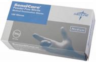 Medline 484801 Sensicare PF Nitrile Exam Gloves Small (CS10)