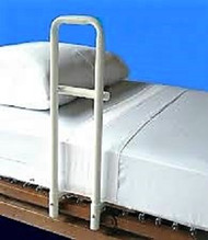 MTS 8025H TRANSFER HANDLE FOR HOSPITAL STYLE BEDS, 2-PIECE, PAN BASE (NON-RETURNABLE)