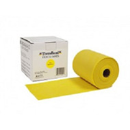 "Thera-Band 20120 THERABAND THIN EXERCISE BAND, 5.5"" X 50 YD, YELLOW, LATEX"