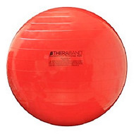 "Thera-Band Exercise Ball, 55 cm, 22"", Red, In Box (NON-RETURNABLE)"