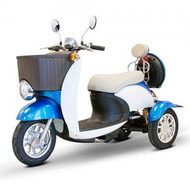 EWheels EW-11 SPORT Mobility Scooter Blue-White - Shipping included