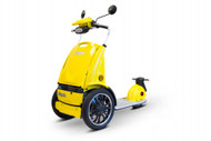 eWheels EW-77 EDGE Mobility Scooter Yellow - Shipping included