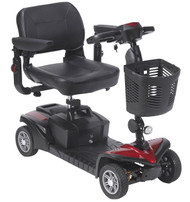 Drive Medical SFDST4 SPITFIRE DST 4-WHEEL Travel Scooter SFDST4