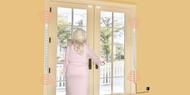 Smart Caregiver TL-2012SR1 Anti-Wandering Door Alarm Monitor Resident Wristband (Smart Caregiver TL-2012SR1)
