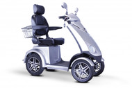 EWheels Dealers EW72 FOUR WHEEL SCOOTER (EW-72 Silver) Shipping included