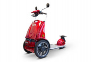 eWheels EW-77 EDGE Mobility Scooter Red - Shipping included