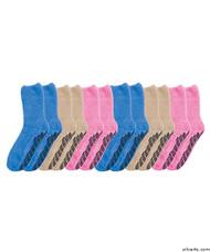 Silvert's 191500101 Hospital Socks Non Skid / Anti Slip Grip Socks For Women , Size Regular, WOMEN'S PACK